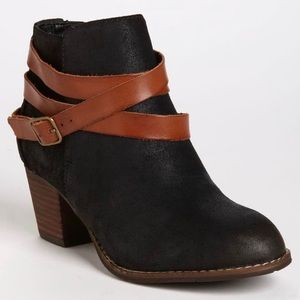 DV by Dolce Vita Java Black Suede Ankle Boot